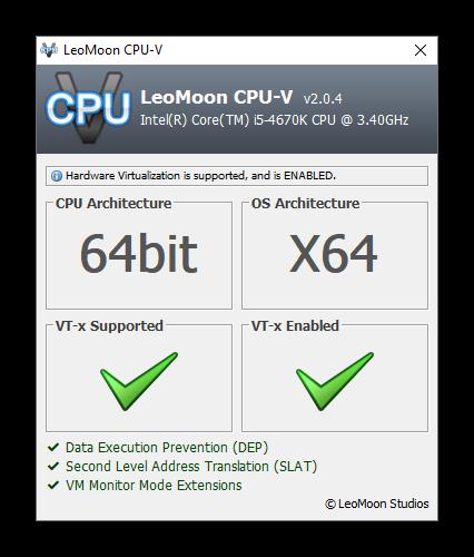 Вид утилиты LeoMoon CPU-V